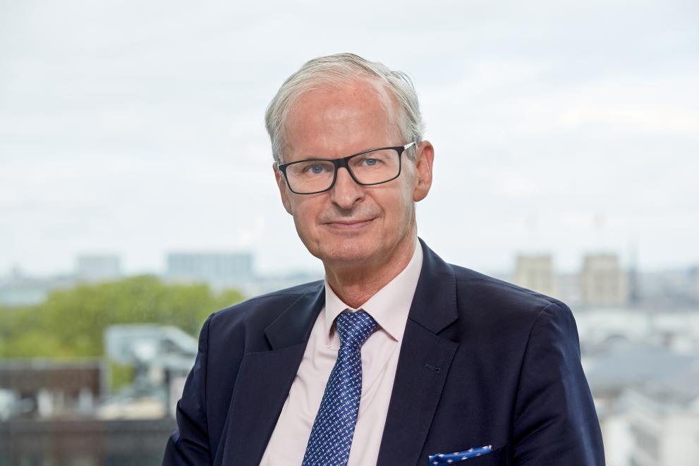 Christian Danielsson, chef för EU-kommissionens representation i Sverige