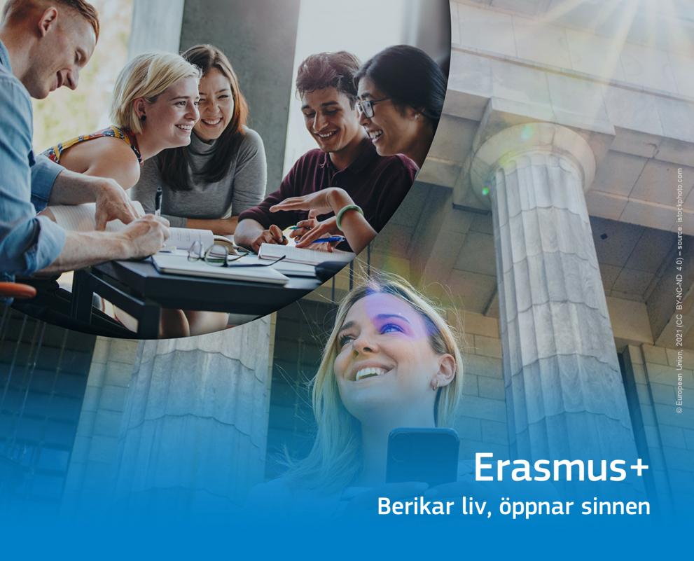 Erasmus+ Berikar liv, öppnar sinnen