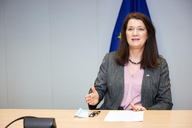 Visit of Ann Linde, Swedish Minister for Foreign Affairs, to the European Commission