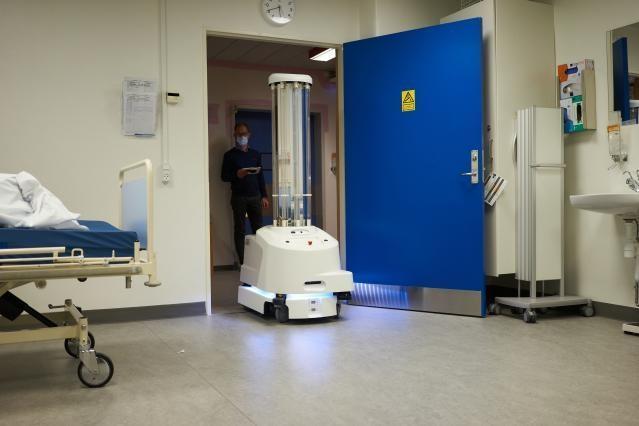 Coronavirus - Disinfection robots for hospitals